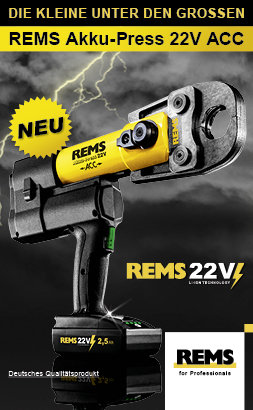 Rems Akku-Press 22V ACC